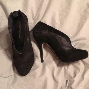 Audrey Brooke bootie heels